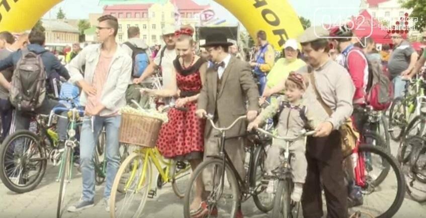 В Чернигове прошел велодень в стиле ретро, фото-3