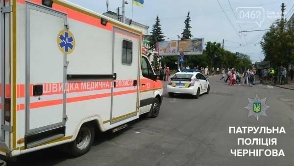 Черниговские патрульные сопровождали велоколону , фото-5