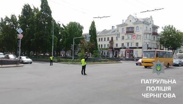 Черниговские патрульные сопровождали велоколону , фото-3