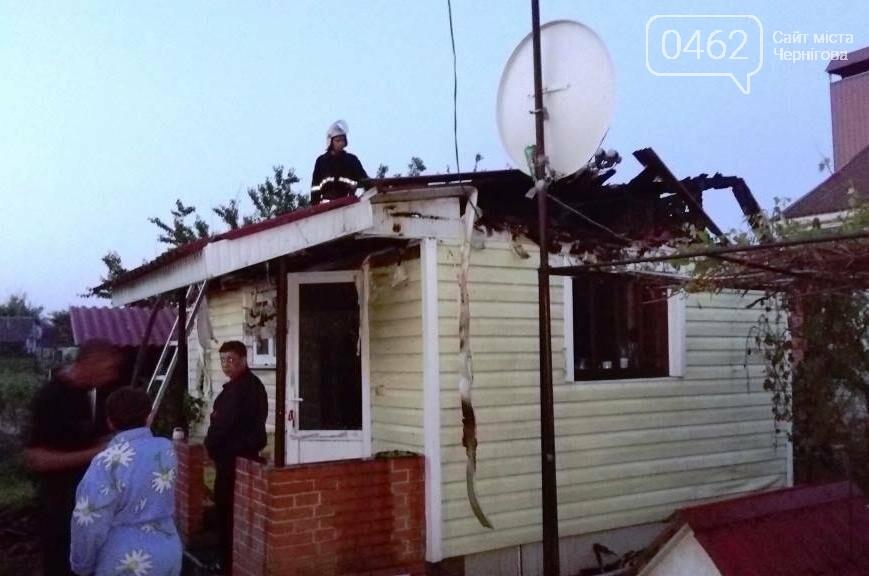 Из-за замыкания в электросети чуть не погиб житель Черниговщины, фото-2