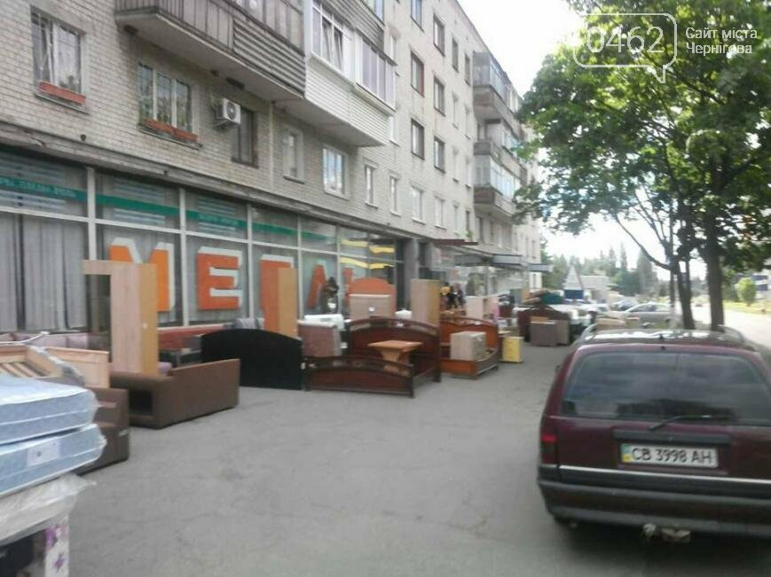 В Чернигове опять «выселяют» мебельный магазин на Жабинского, фото-1