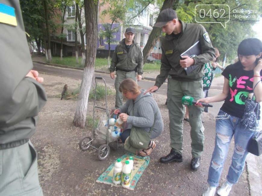 В Чернигове продолжают бороться со стихийной торговлей, фото-1