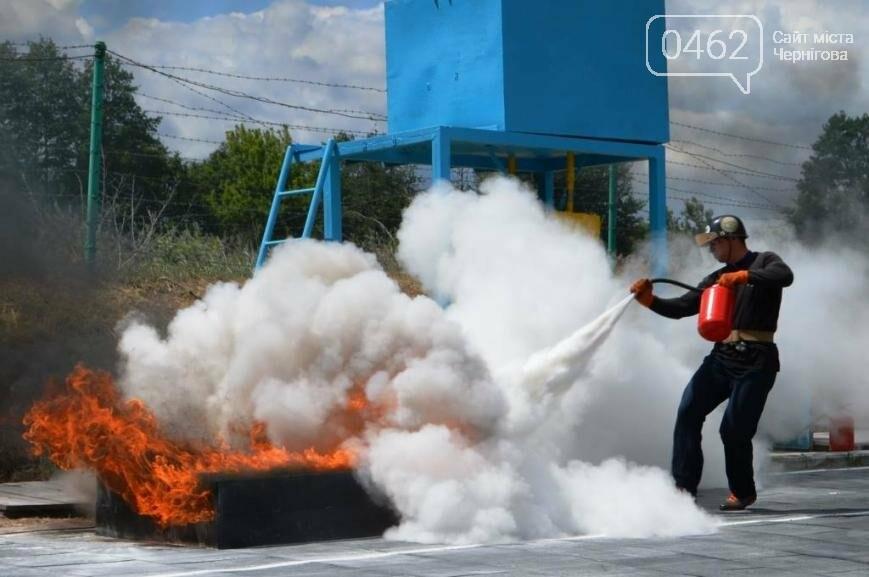 Под Черниговом проводится чемпионат по пожарно-прикладному искусству, фото-2