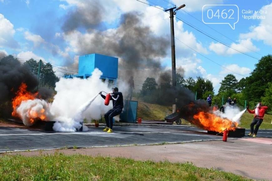 Под Черниговом проводится чемпионат по пожарно-прикладному искусству, фото-6