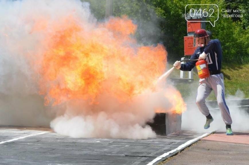Под Черниговом проводится чемпионат по пожарно-прикладному искусству, фото-4