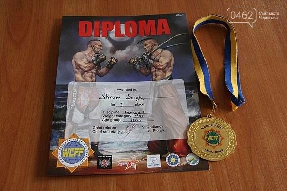 Черниговский полицейский стал чемпионам мира в казацком поединке, фото-3