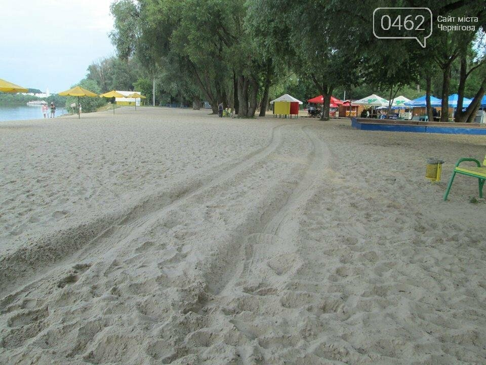Пьяный киевский СБУшник катался на внедорожнике по черниговскому пляжу, фото-2