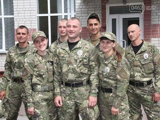 """Рота полиции спецназначения """"Чернигов"""" пополнилась шестью новобранцами, фото-1"""