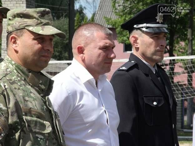 """Рота полиции спецназначения """"Чернигов"""" пополнилась шестью новобранцами, фото-3"""