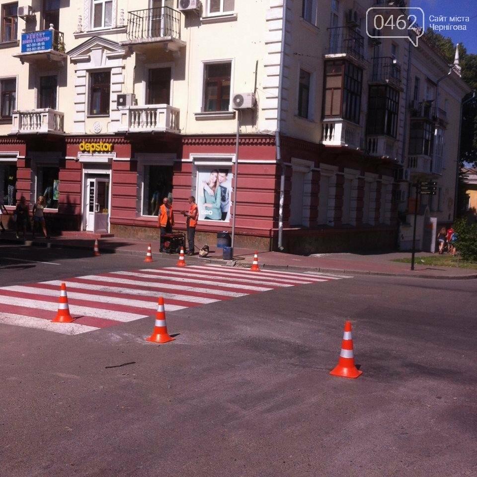 В центре Чернигова устанавливают зеркала, фото-3