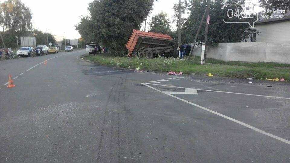 Водитель КамАЗа на Черниговщине погиб в ДТП, пытаясь спасти нарушителя правил, фото-3