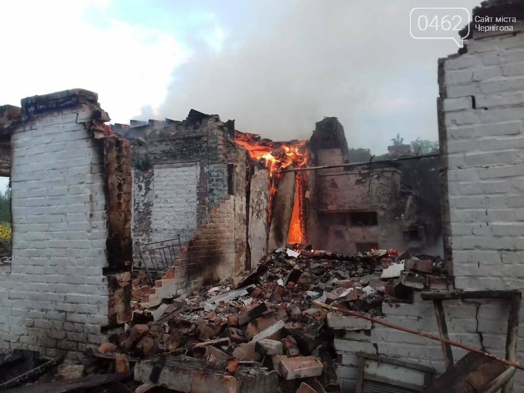Житель Черниговсщины спас свою 100-летнюю бабушку из горящего дома, фото-1