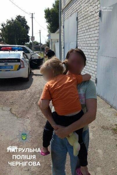 Патрульные вернули потерявшуюся 5-летнюю девочку бабушке , фото-1