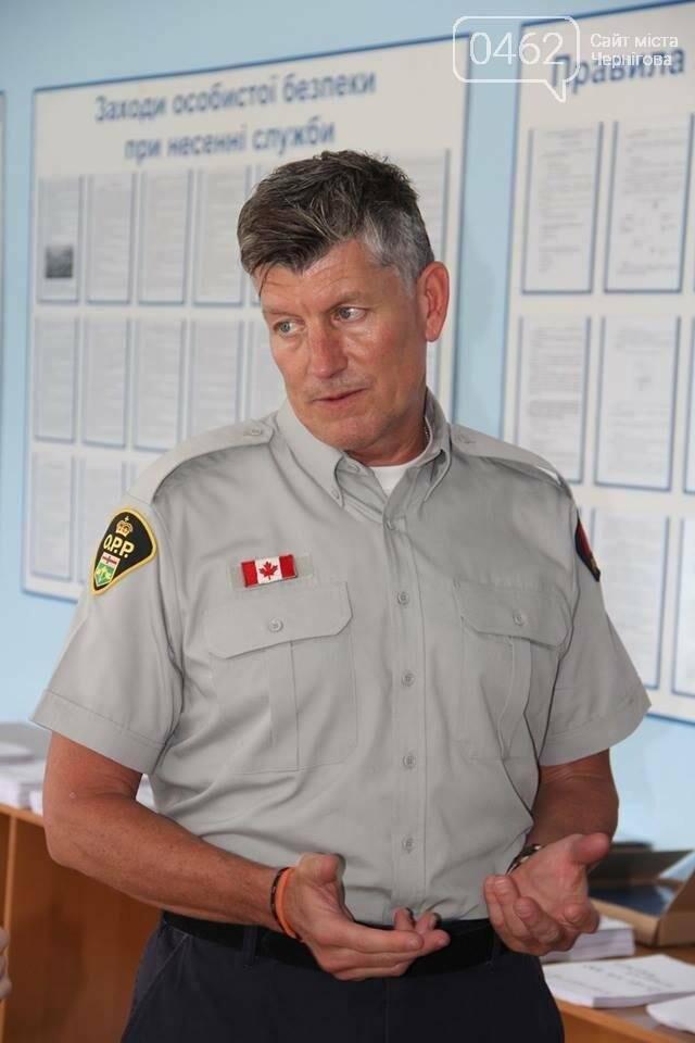 Канадская полицейская миссия вернулась в Чернигов для обучения коллег со всей Украины, фото-1