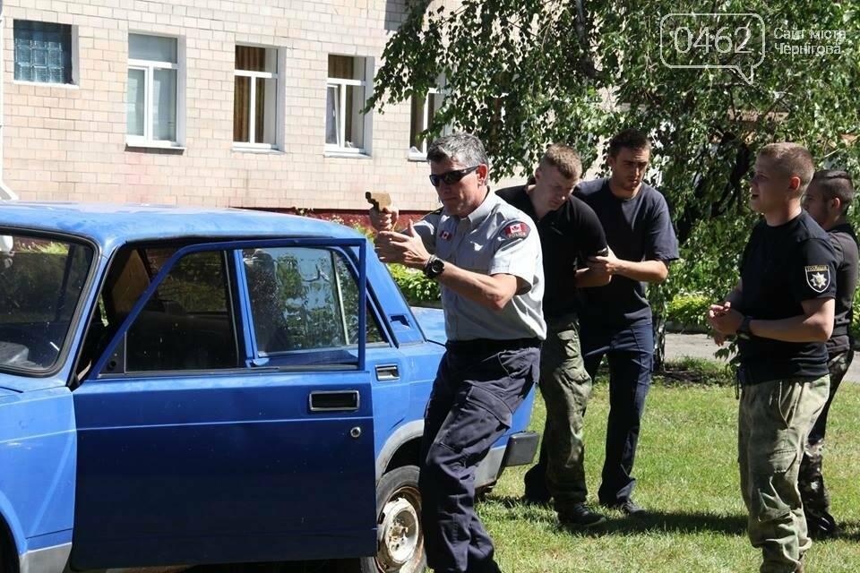 Канадская полицейская миссия вернулась в Чернигов для обучения коллег со всей Украины, фото-5