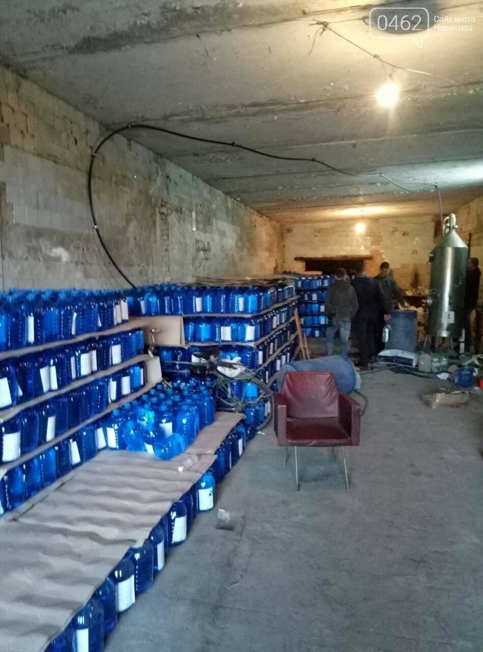Стартап по-черниговски: 60 тонн спирта из стеклоочистителя, фото-1