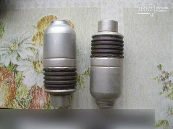 Приехав на семейную ссору полиция Черниговщины нашла гранаты , фото-2