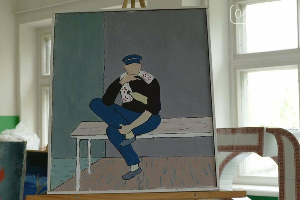 Пациенты психдиспансера в Чернигове сами зарабатывают себе на терапию, фото-1
