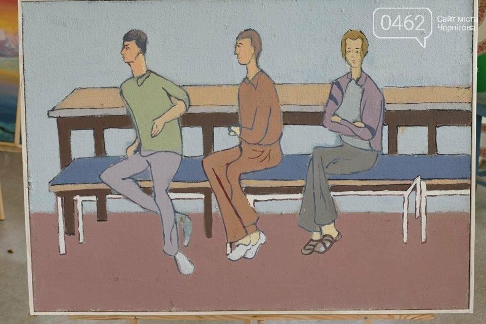Пациенты психдиспансера в Чернигове сами зарабатывают себе на терапию, фото-10