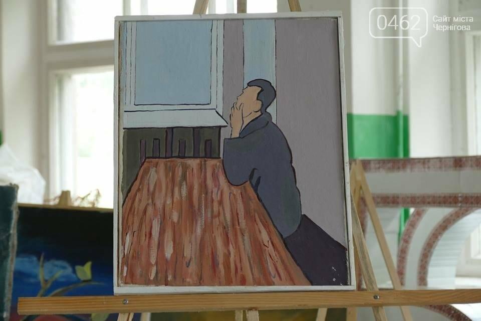 Пациенты психдиспансера в Чернигове сами зарабатывают себе на терапию, фото-7