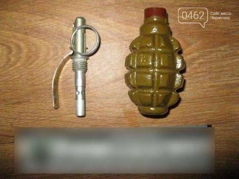 В Чернигове продолжают находить и изымать незаконное оружие, фото-1
