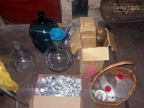 На Черниговщине раскрыли нарколабораторию и оружейное производство в одном хояйстве, фото-3