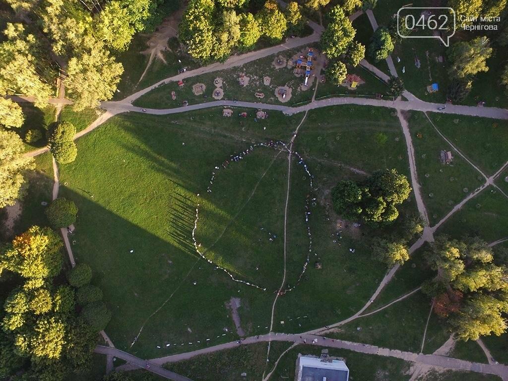 Черниговцы создали защитный круг для Березовой рощи , фото-3