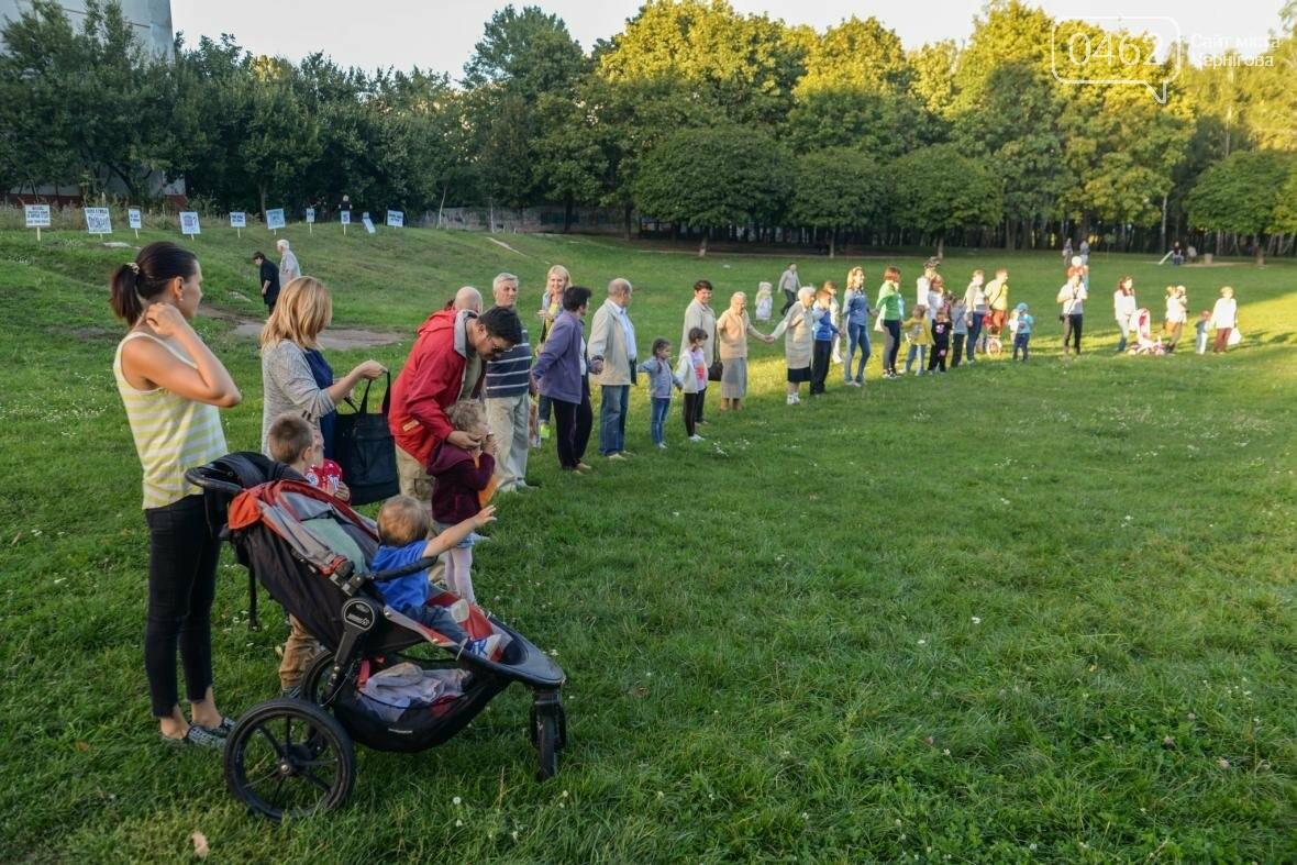Черниговцы создали защитный круг для Березовой рощи , фото-10