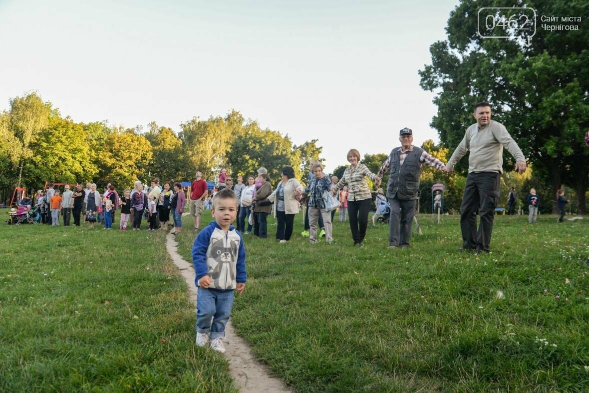 Черниговцы создали защитный круг для Березовой рощи , фото-8