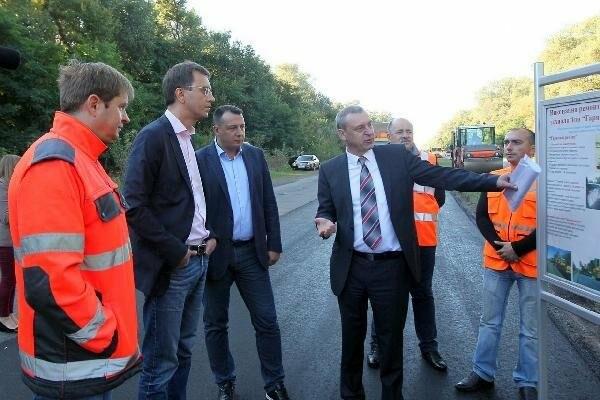 Министр инфраструктуры похвалил черниговские дороги, фото-2