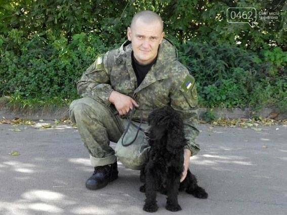 Полицейская собака из Чернигова находит гранаты, фото-1