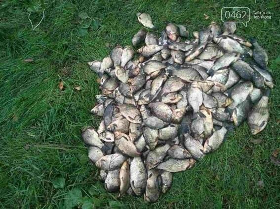 На Черниговщине браконьер сетями выловил 65 кг рыбы, фото-1