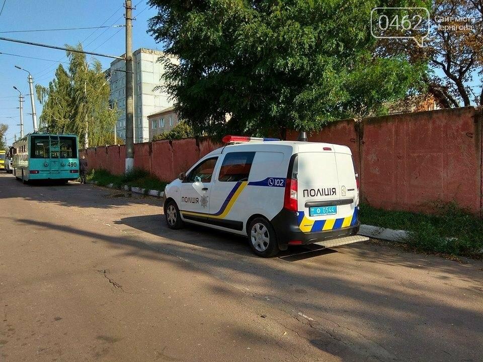 Вандалы разбили в Чернигове новые троллейбусы, фото-3