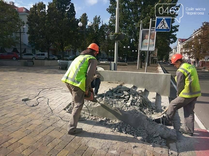 «Ступеньки по-дебильному» в Чернигове на «стометровке» уже исправляют, фото-2