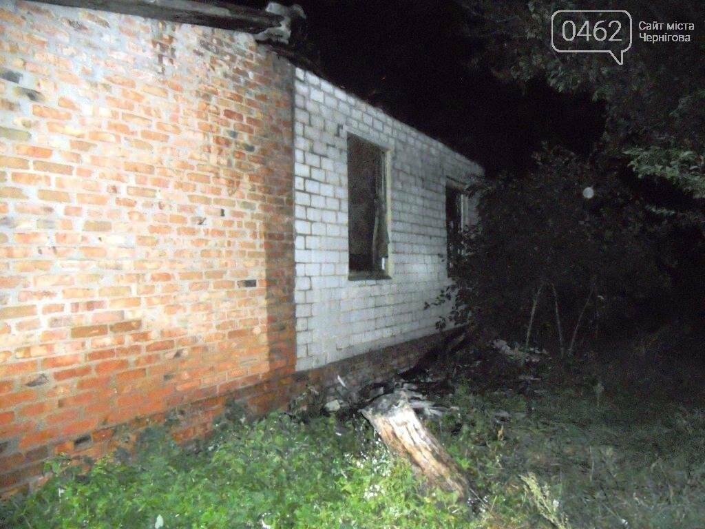 На Черниговщине при пожаре погиб неизвестный , фото-1