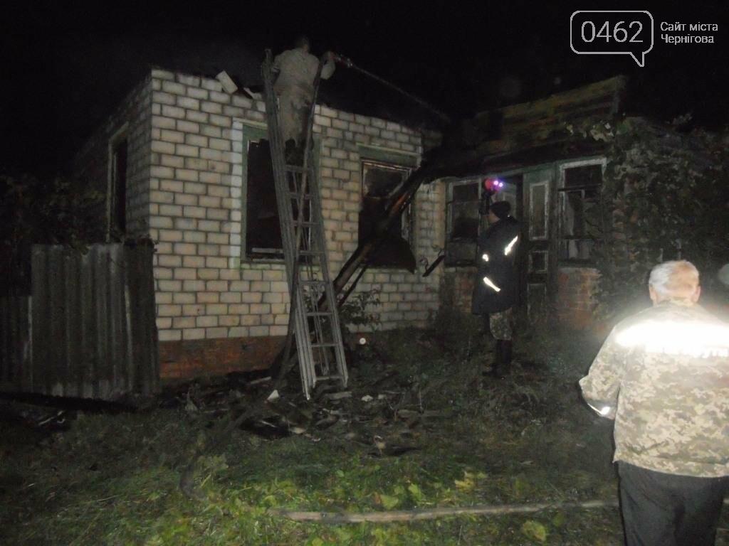 На Черниговщине при пожаре погиб неизвестный , фото-2