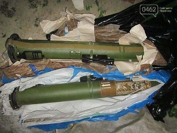 В ходе профилактических работ полиция изъяла у жителя Черниговщины 2 противотанковые гранаты , фото-1
