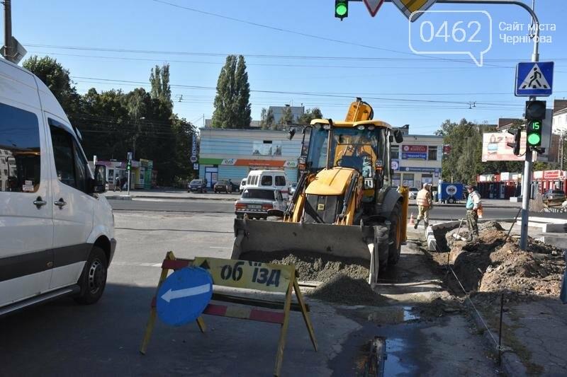 К концу года на ул. Рокоссовского отремонтируют одну полосу движения, фото-4