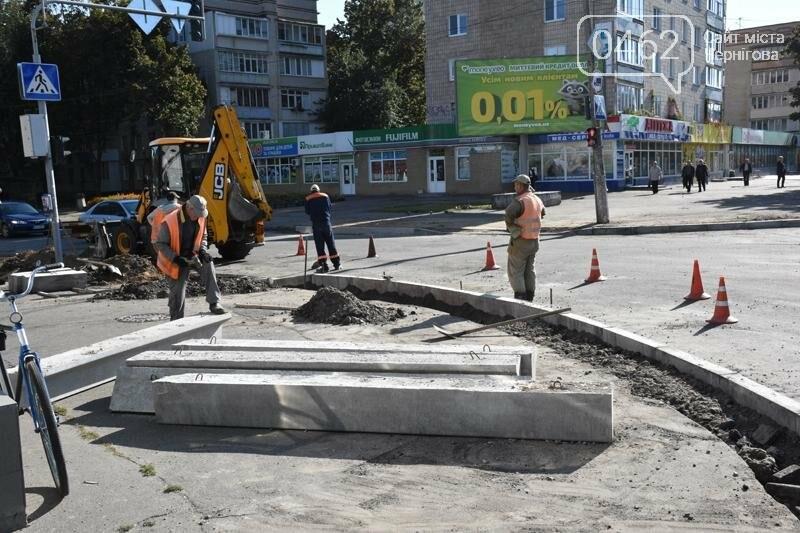 К концу года на ул. Рокоссовского отремонтируют одну полосу движения, фото-7