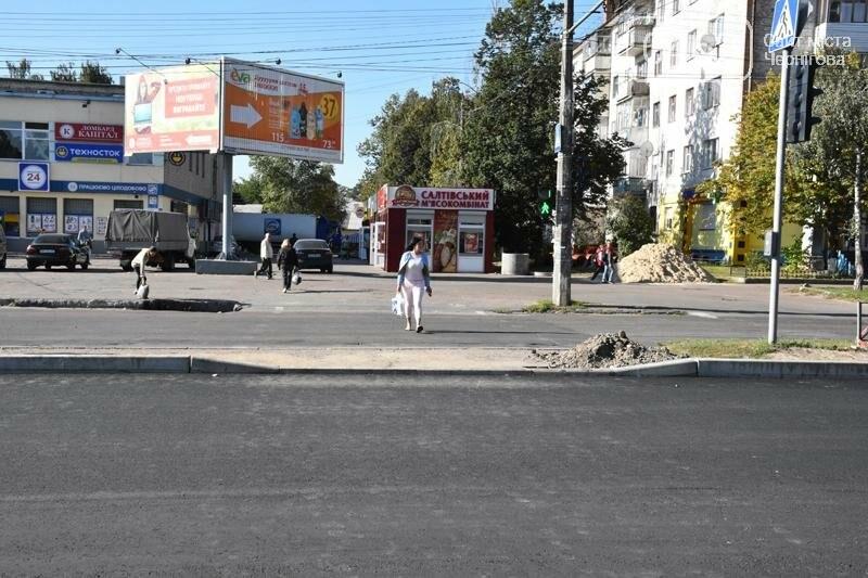 К концу года на ул. Рокоссовского отремонтируют одну полосу движения, фото-6