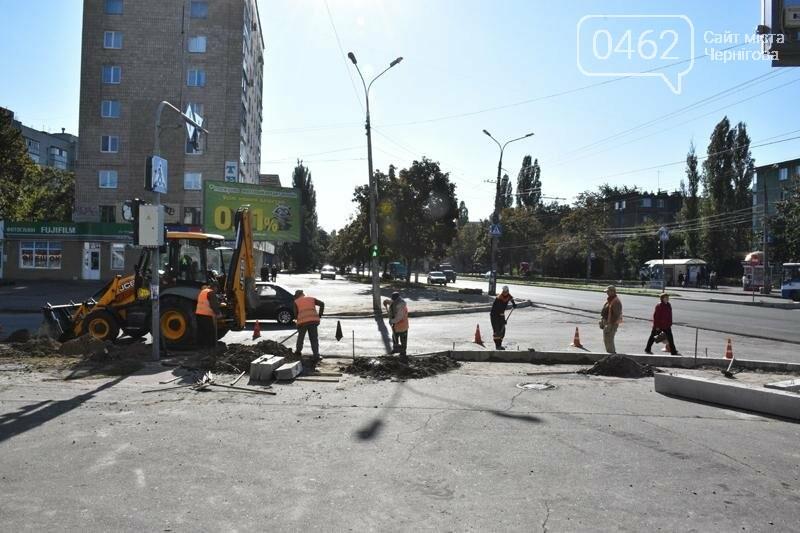 К концу года на ул. Рокоссовского отремонтируют одну полосу движения, фото-1