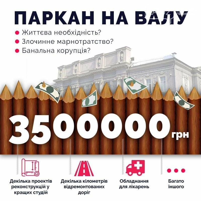 Активисты не хотят тратить 3,5 миллиона на забор на Валу в Чернигове, фото-3