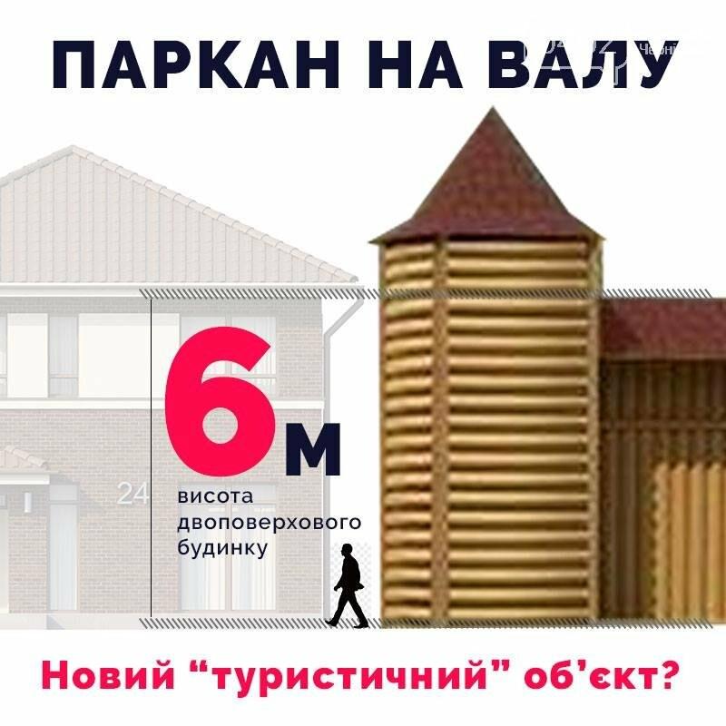 Активисты не хотят тратить 3,5 миллиона на забор на Валу в Чернигове, фото-2