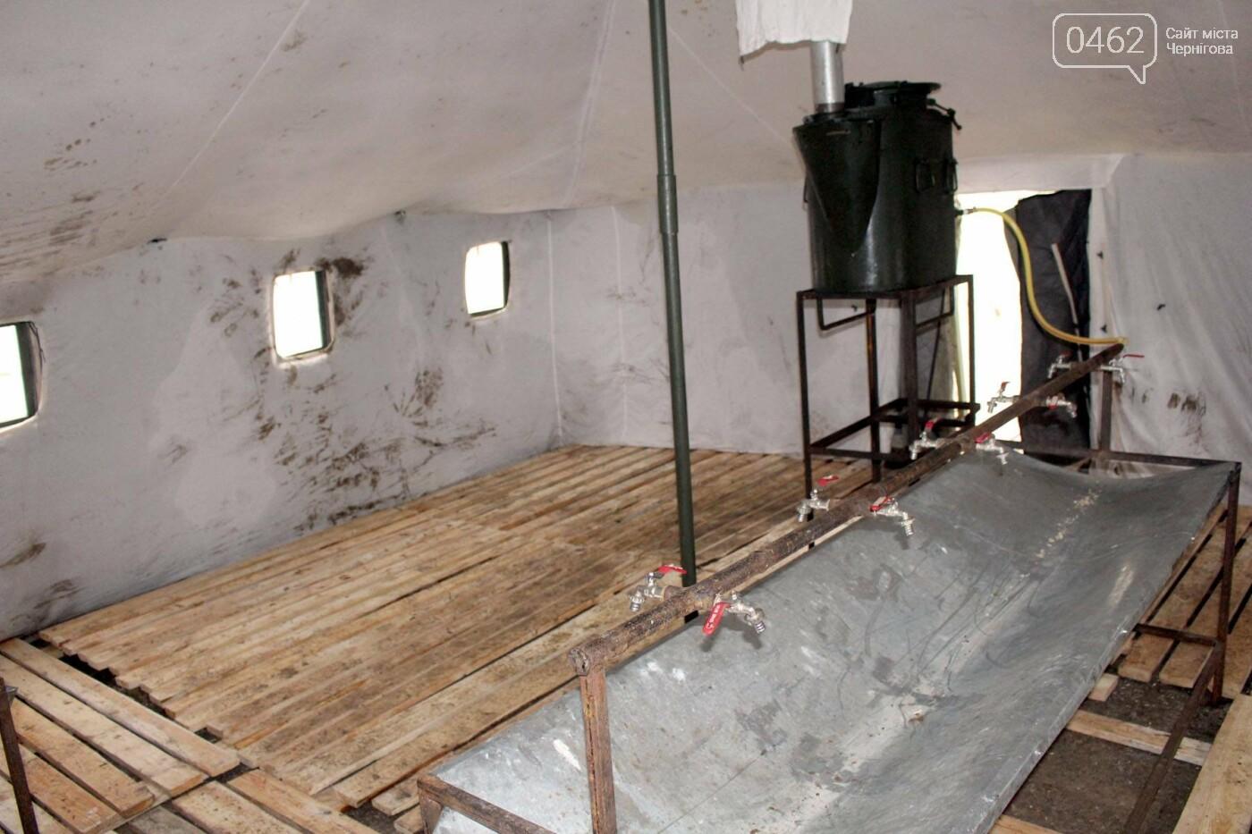 Полигон в Черниговской области, который ранее раскритиковали за ужасные условия, привели в порядок, фото-1