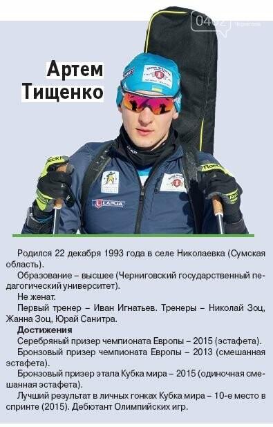 Черниговцы на Олимпиаде. Расписание и досье, фото-3
