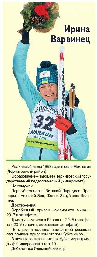 Черниговцы на Олимпиаде. Расписание и досье, фото-4
