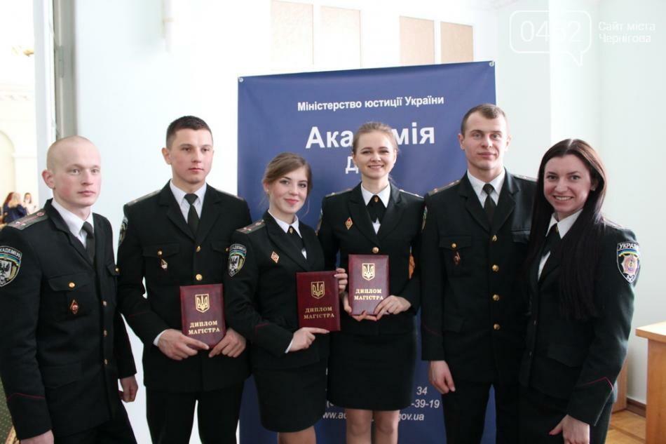 Первый выпуск магистров черниговской Академии пенитенциарной службы, фото-1
