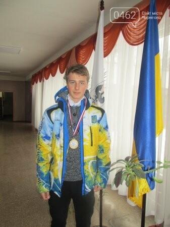 Школьник из Чернигова завоевал золото на Всемирной зимней гимназиаде, фото-1