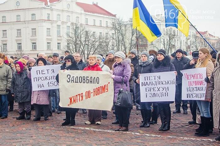Черниговцы присоединились к всеукраинскому митингу, фото-4