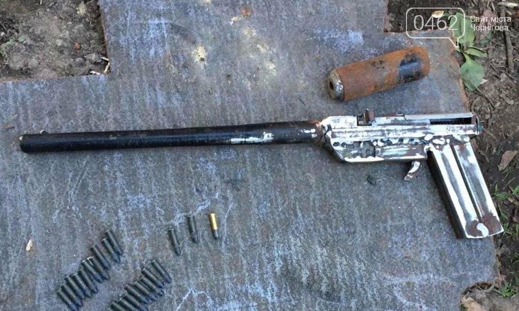 Пистолеты «из подручных материалов» дома делал житель Черниговской области, фото-2